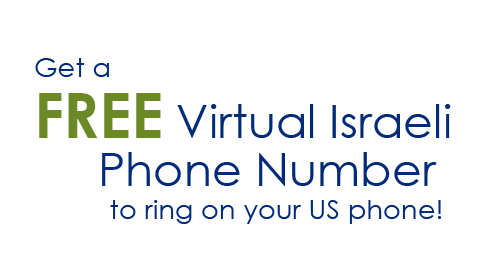 Get a FREE Virtual Israeli Phone Number to ring on your US phone!